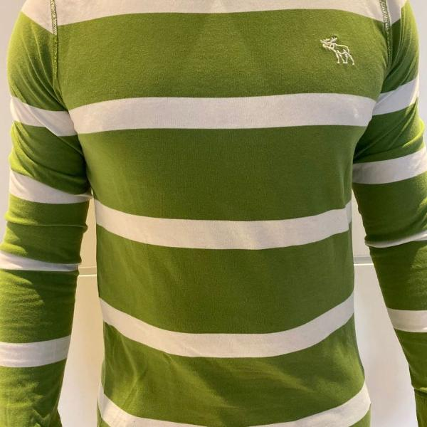 T shirt abercrombie long sleeve