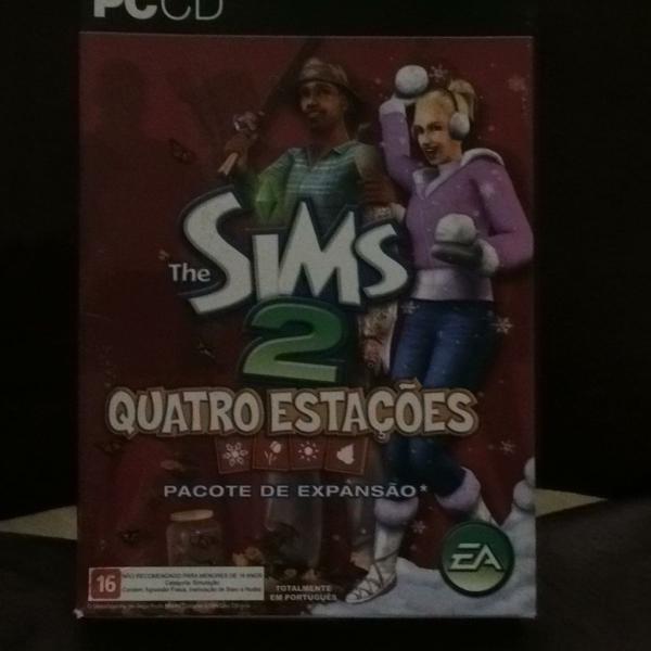 the sims 2 quatro estações edicao de colecionador