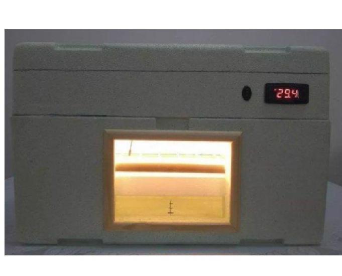 Chocadeira de isopor 100% automática - umidade 60% a 80%