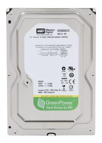 Hd 3.5 Desktop Western Digital 500gb - Novo Com Garantia