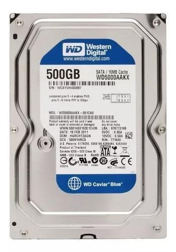 Hd 500gb sata desktop e dvr novo