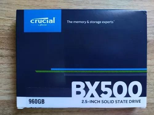 Hd Ssd 960gb Crucial Bx500 Lacrado 3 Anos De Garantia