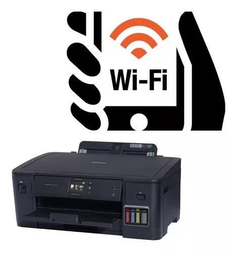 Impressora brother ecotank brother a3 t4000 t4000w hl-t4000w