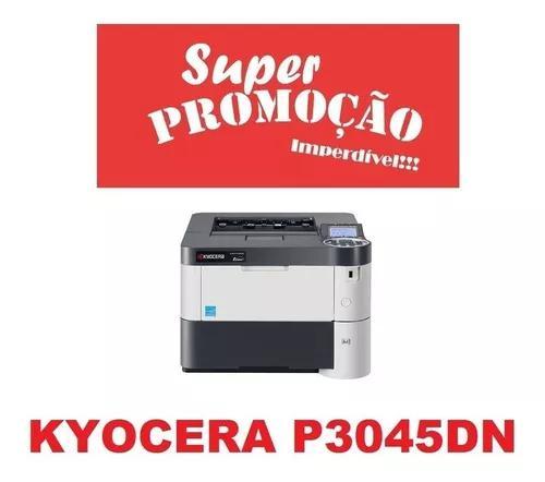 Impressora kyocera ecosys p3045dn laser a4 mono rede p3045