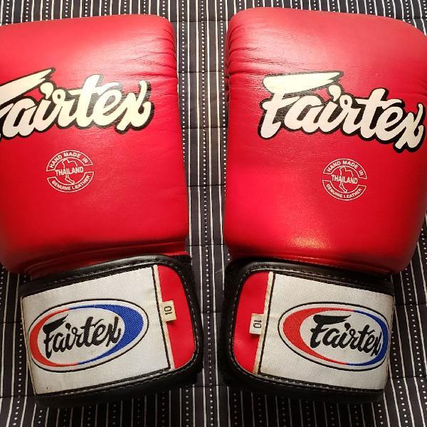 Luva fairtex para muay thai / boxe