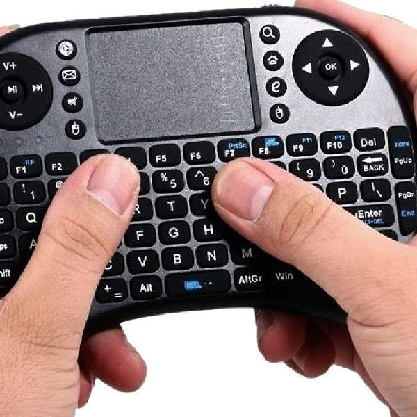 Mini teclado sem fio touchpad keyboard air mouse universal