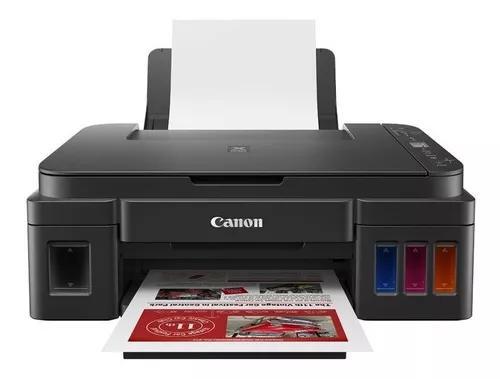 Multifuncional canon tanque de tinta g3110 wi-fi e usb impri