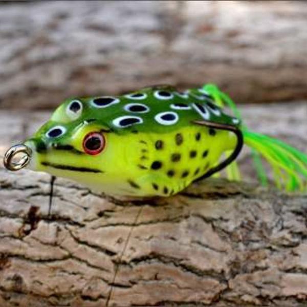Sapo frog isca artificial p/ traíras bass tucunarés 4
