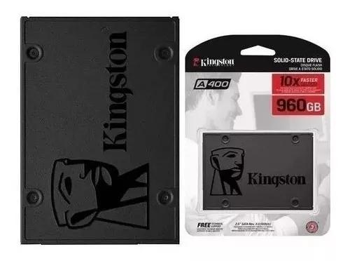 Ssd 960gb kingston a400 sata 3 6gb/s pc notebook novo