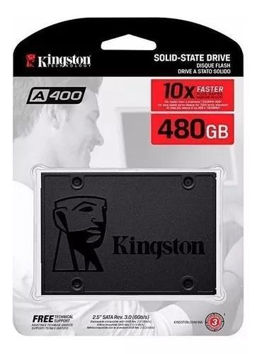 Ssd kingston 480gb sata 2.5 lacrado a400 500mbs promoção