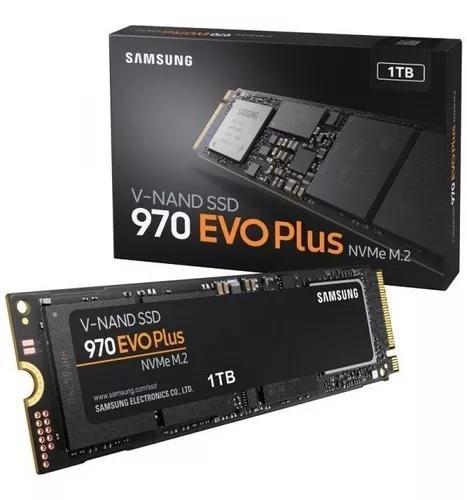 Ssd samsung 970 evo plus 1tb nvme p.entrega original