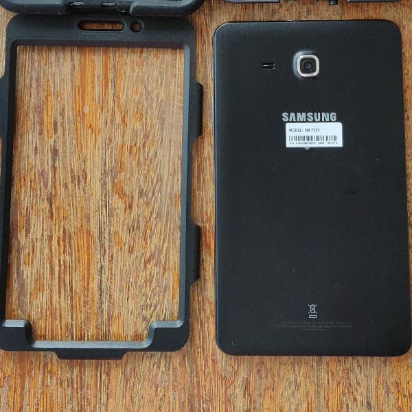 Tablet samsung a6 t280 com película e com capa protetora