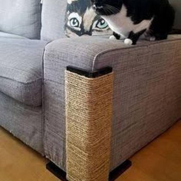 Arranhador de gato / protetor de sofá