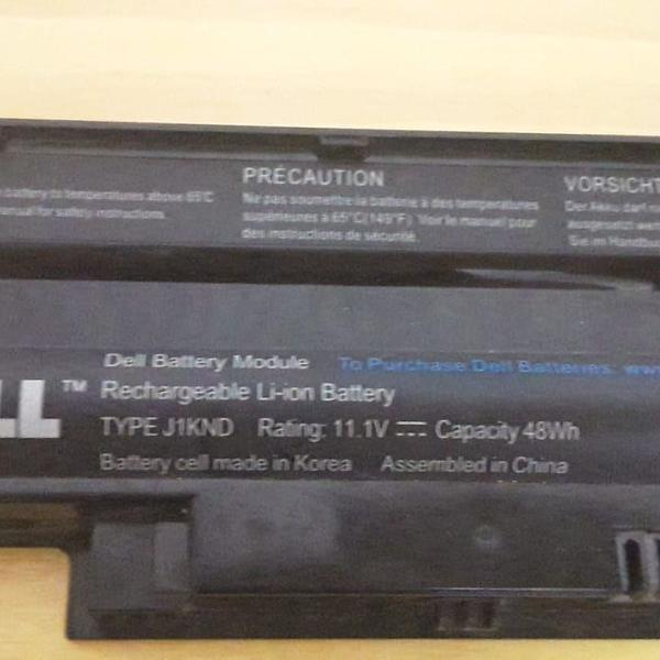 Bateria type j1knd para notebook dell