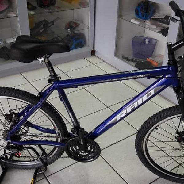 """Bicicleta aro 26"""" com 21 velocidades - freios a disco - e"""