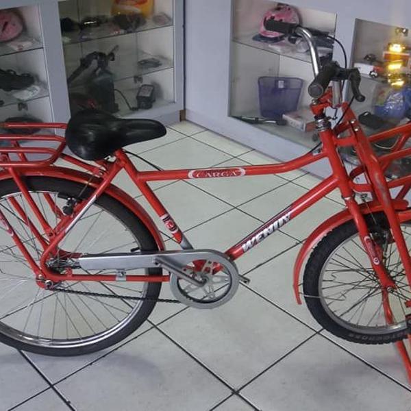 Bicicleta de trabalho cargueira em ótimo estado de