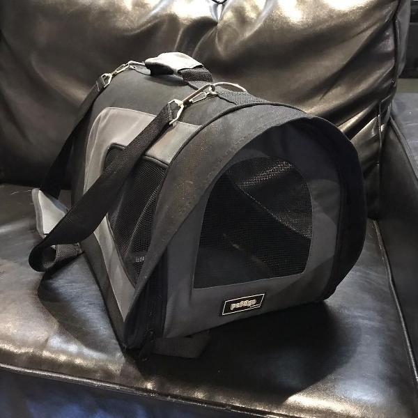 Bolsa de transportepet&go para cabine de avião pandora