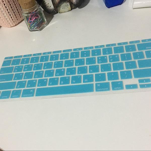 Capa teclado mac