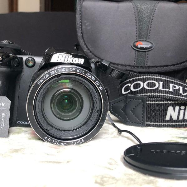 Câmera e filmadora nikon semi profissional l840 em hdmi e