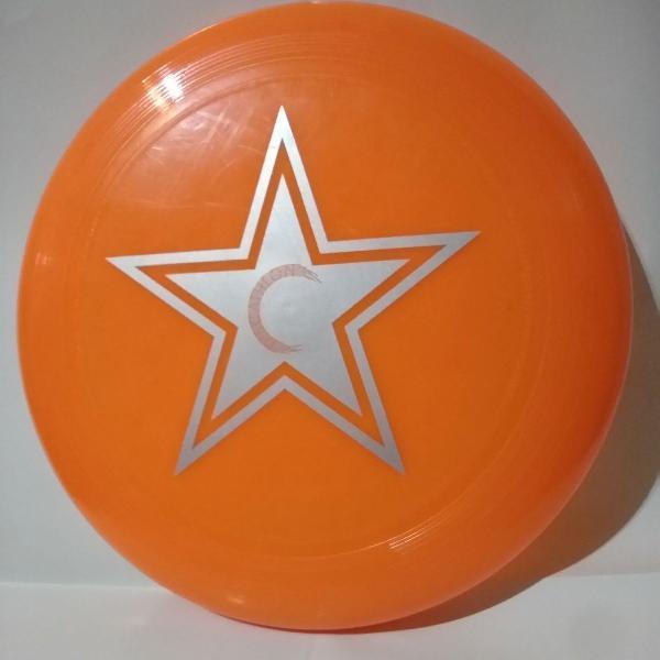 Disco frisbee laranja