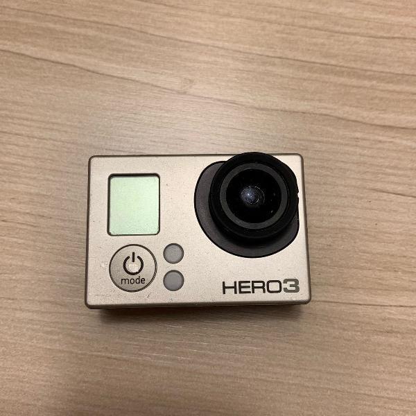 Gopro hero3 com acessorios