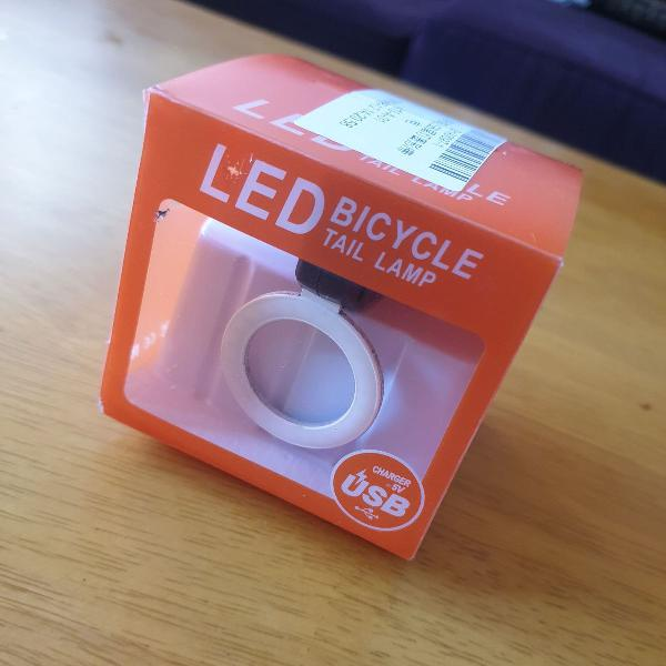 Lanterna led bike mtb speed prova d`agua recarregavel usb
