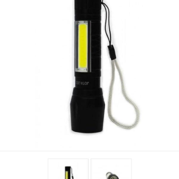 Lanterna led cob e cree sem embalagem