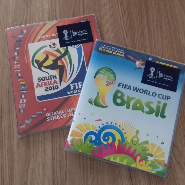 Lbuns das copas de 2010 e 2014 completos