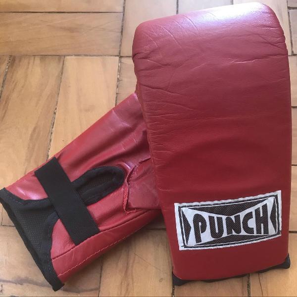 Luva de box em courino punch