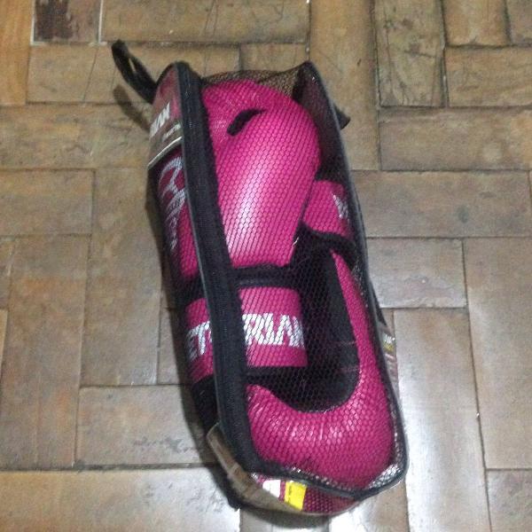 Luva pretorian first rosa 10 com bandagem