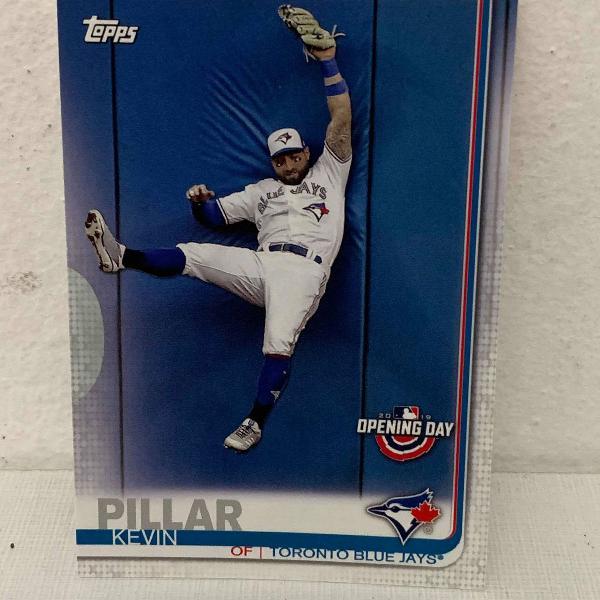 Pacote com 7 cards de baseball