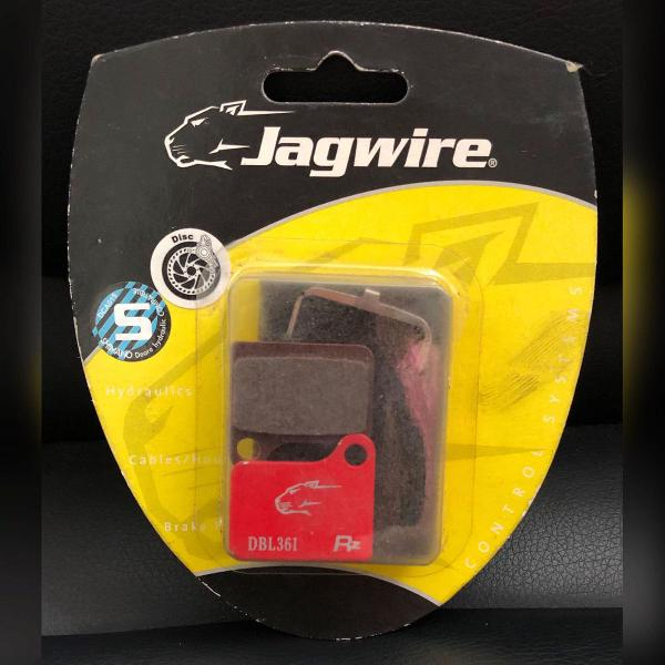 pastilha de freio para bicicleta mtb jagwire dbl361 - nova -