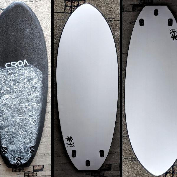 Prancha surf croa softboard perfeito estado diversão
