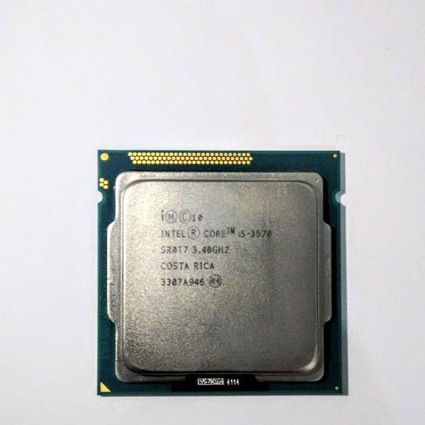processador intel core i5 3570 lga 1155 3.4ghz- turbo max