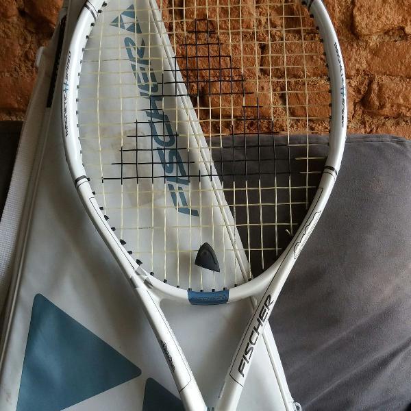 Raquete de tênis fisher