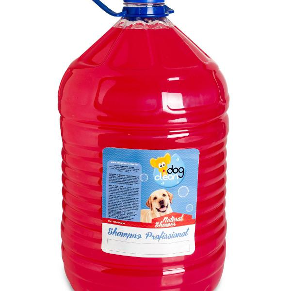 Shampoo natural shower 10 litros para cães e gatos - dog