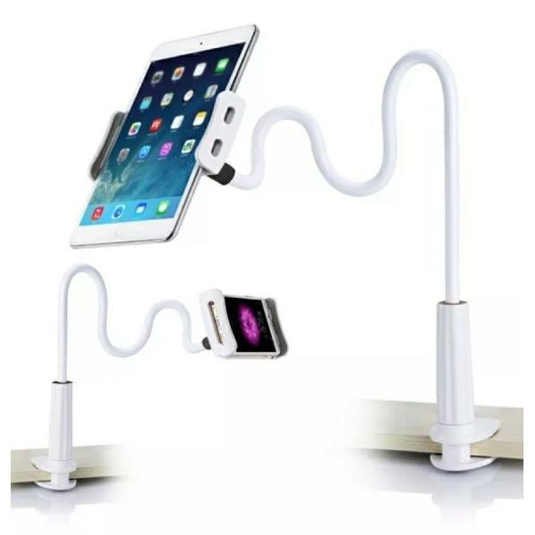 Suporte de mesa flexível universal pra celular e tablets