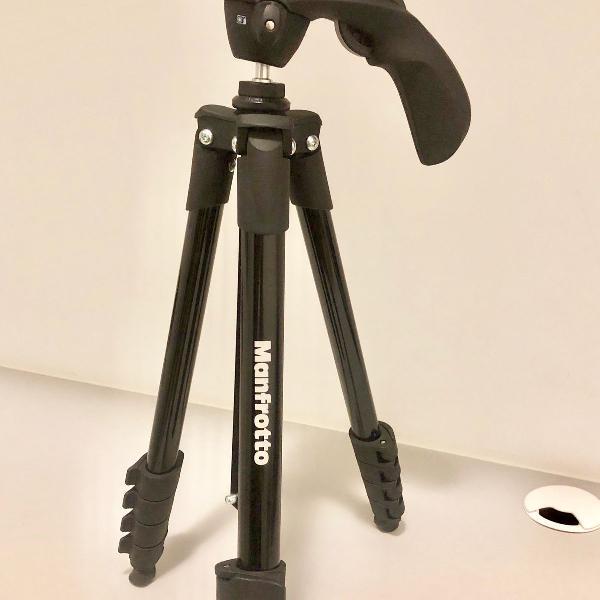 Tripé manfrotto compact action black mkcompactacn-bk - foto