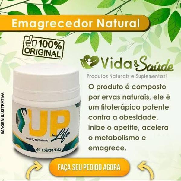 Up life, produto fitoterapico emagrecedor