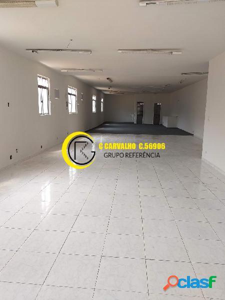 Galpão sobreloja sala comercial andar inteiro em olaria
