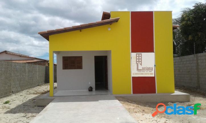 Vende se ótima casa em Tibau-Rn pelo PMCMV