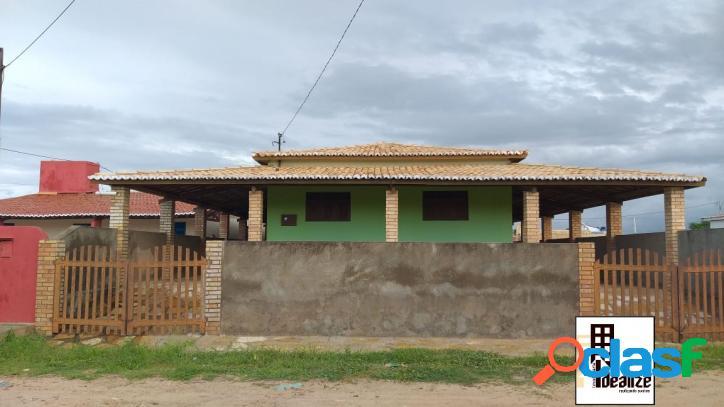 Vende se ótima casa na praia das Emanoelas em Tibau -RN