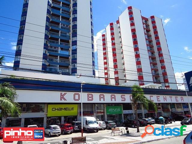 Loja comercial, edifício kobrasol center, locação, bairro kobrasol, são josé, sc