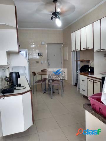 Apartamento à venda, 105 m² por r$ 665.000,00 - boqueirão - santos/sp