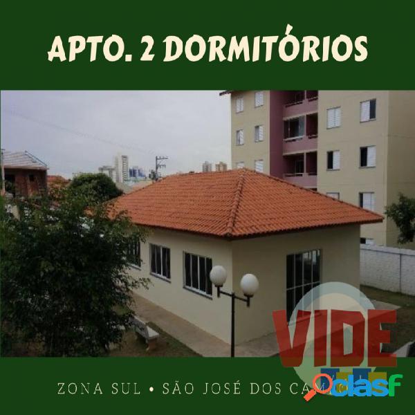 Apartamento com 2 dormitórios, 50 m², 1 vaga, no jardim sul