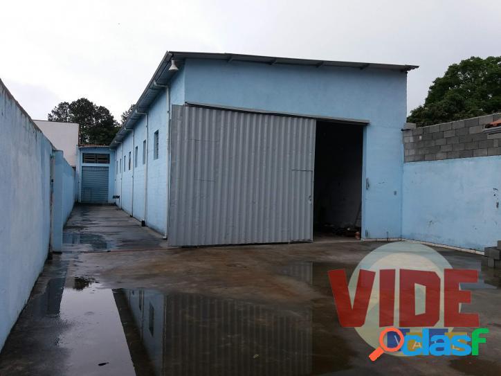 Galpão c/ 280 m² ac, 500 m² de terreno, no chácaras reunidas, sjc