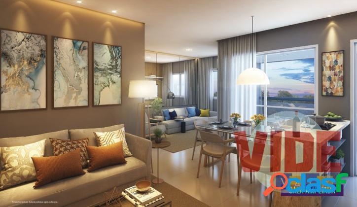 Vila industrial: apartamento com 3 dormitórios (1 suíte), 2 vagas, 75,5 m²