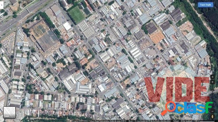 Lote industrial com 1500 m², no distrito industrial chácaras reunidas, sjc