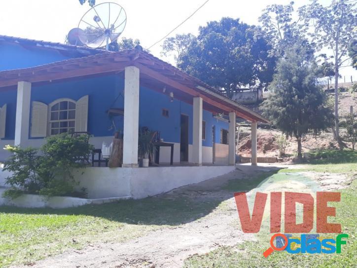 Ótima chácara com 3500 m², 2 casas, em cachoeira paulista