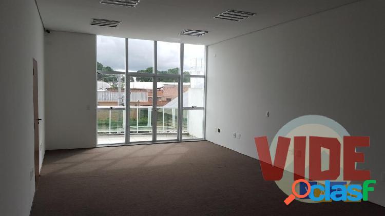 Sala com 70 m², 1 vaga, no distrito industrial chácaras reunidas, em sjc